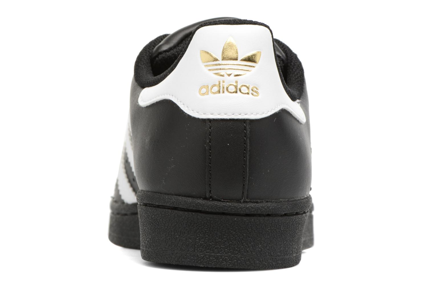 Sneakers Adidas Originals Adidas Superstar Foundation W Nero immagine destra