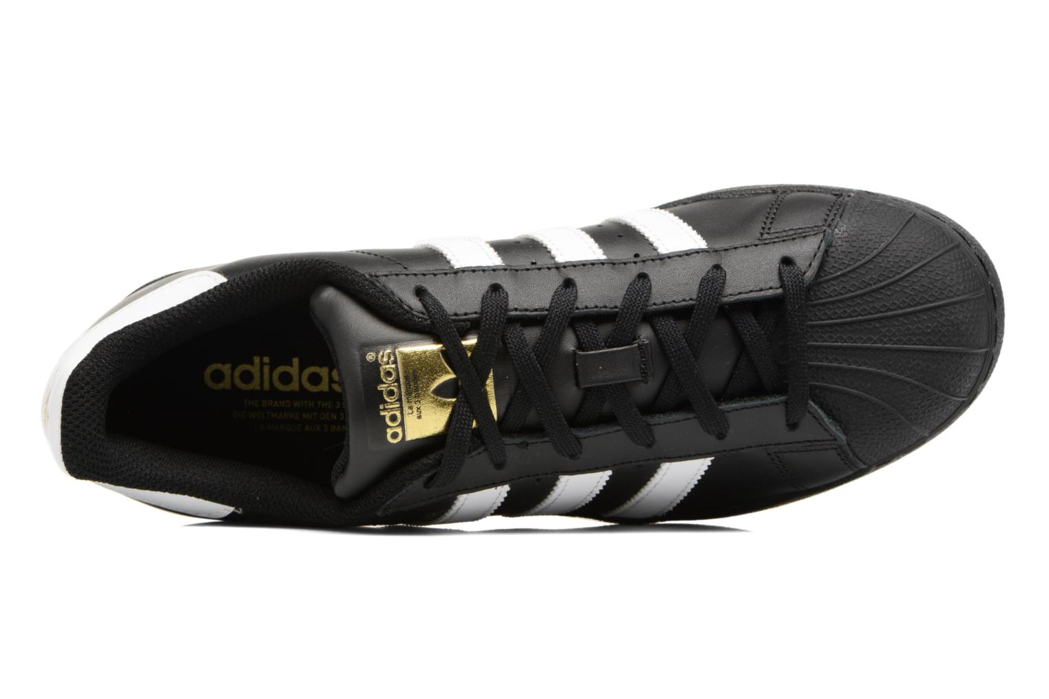 Sneaker Adidas Originals Adidas Superstar Foundation W schwarz ansicht von links