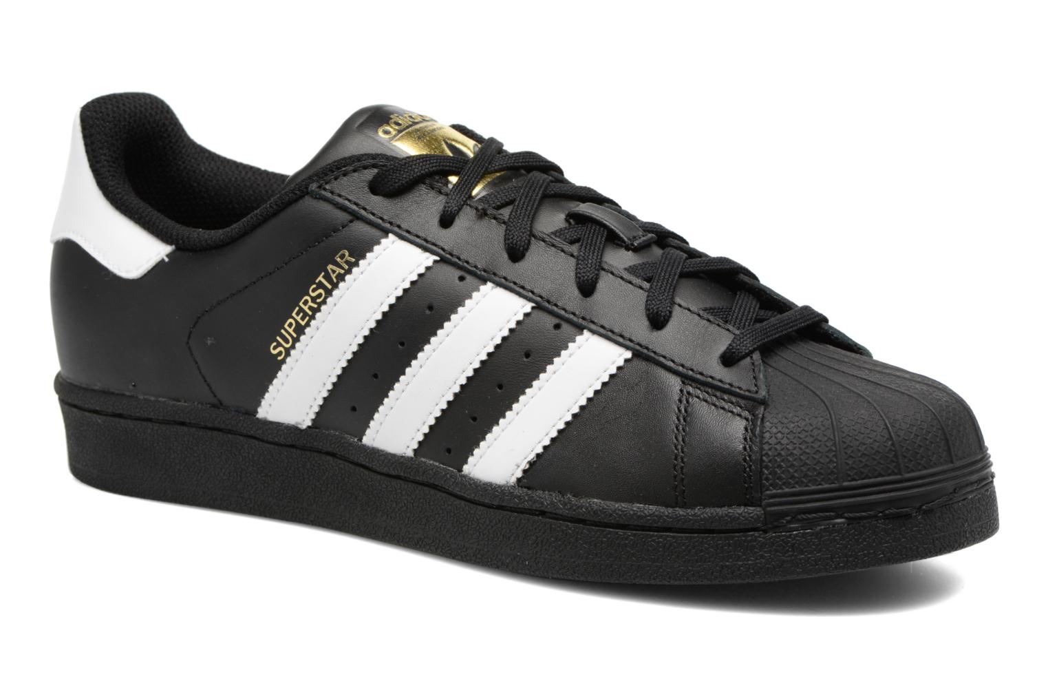 Baskets Adidas Originals Adidas Superstar Foundation W Noir vue détail/paire