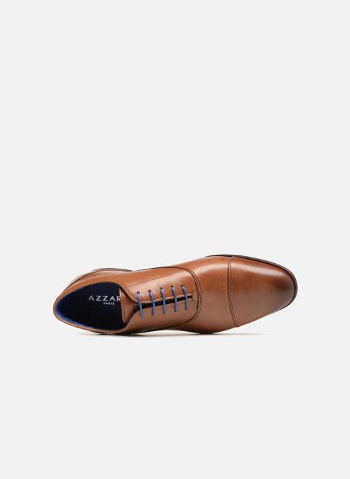 Zapatos con cordones Azzaro Raelan Beige vista lateral izquierda