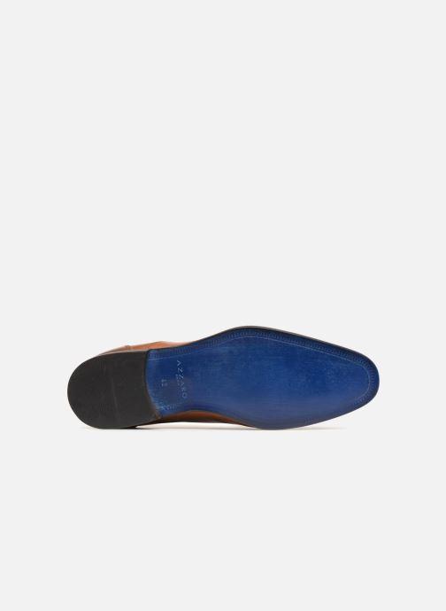 Zapatos con cordones Azzaro Raelan Beige vista de arriba