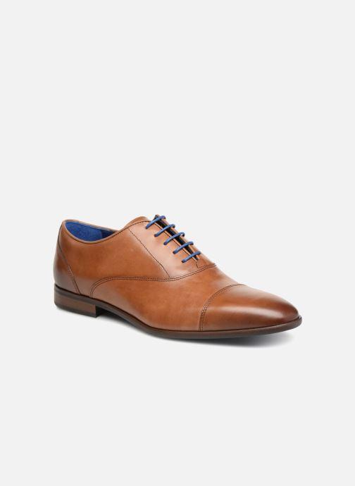 Chaussures à lacets Azzaro Raelan Beige vue détail/paire