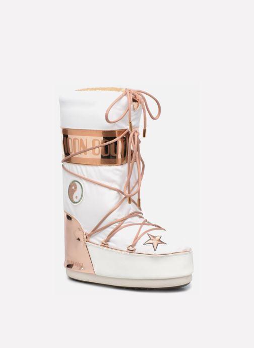 Stiefel Moon Boot Moon Boot Peace Love weiß detaillierte ansicht/modell