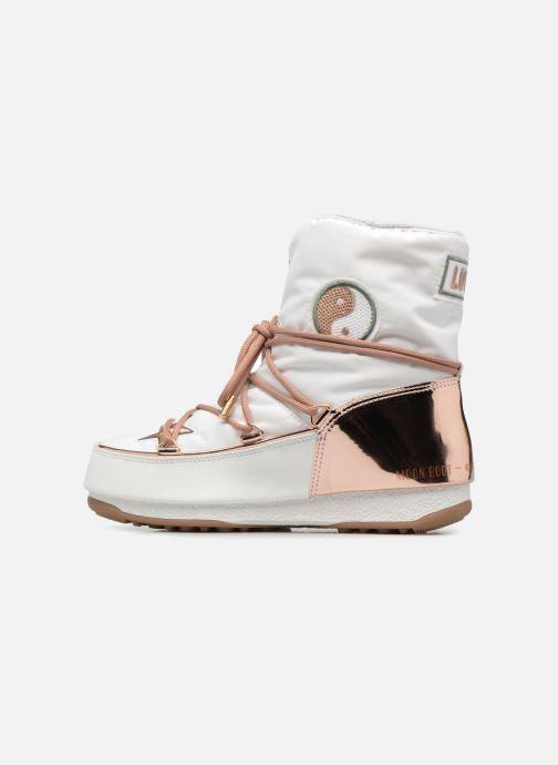 Boots en enkellaarsjes Moon Boot Moon Boot Peace Wit voorkant
