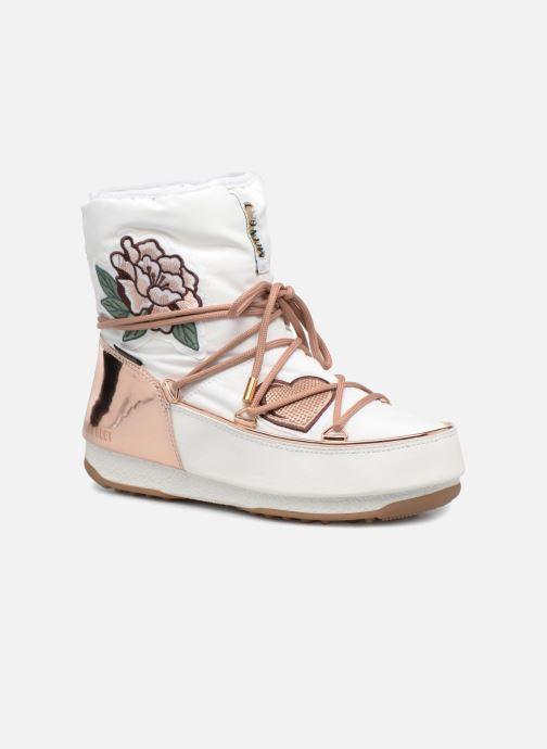 Bottines et boots Moon Boot Moon Boot Peace Blanc vue détail/paire