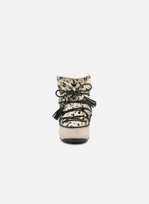 Bottines et boots Moon Boot Moon Boot Animal Blanc vue portées chaussures