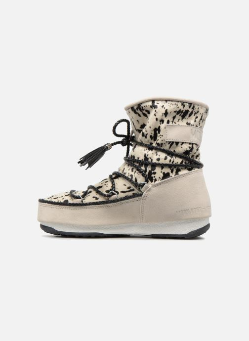 Bottines et boots Moon Boot Moon Boot Animal Blanc vue face