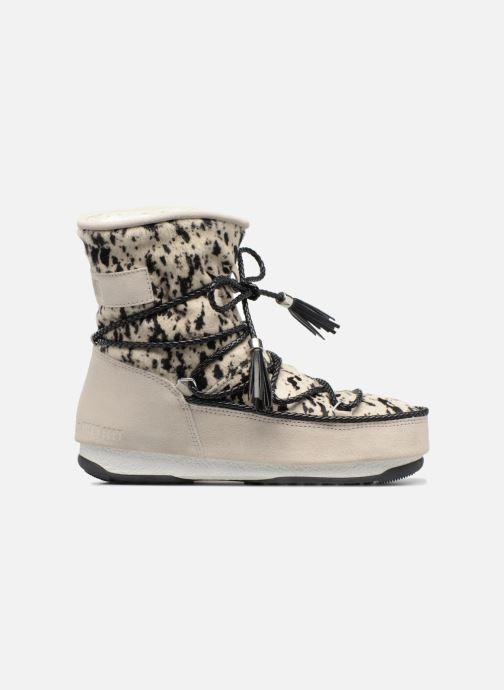 Bottines et boots Moon Boot Moon Boot Animal Blanc vue derrière