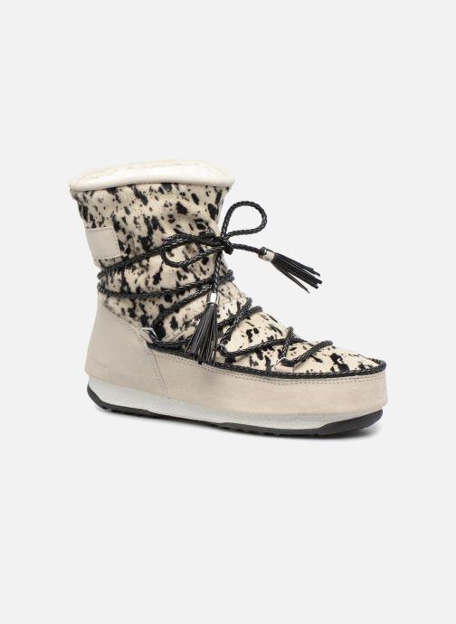 Bottines et boots Moon Boot Moon Boot Animal Blanc vue détail/paire