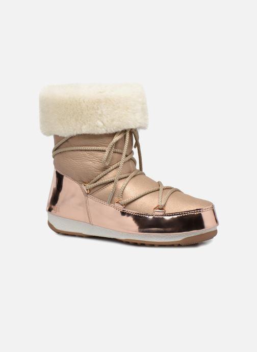 Bottines et boots Moon Boot Moon Boot Rose Mirror Rose vue détail/paire