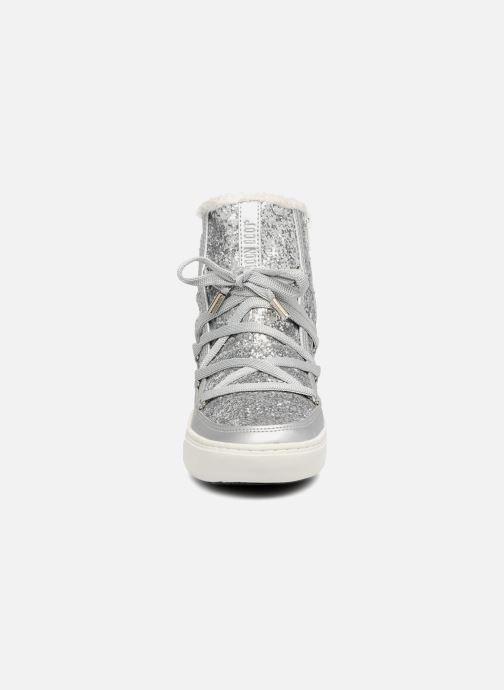 Bottines et boots Moon Boot Moon Boot Pulse Z.Glitter Argent vue portées chaussures