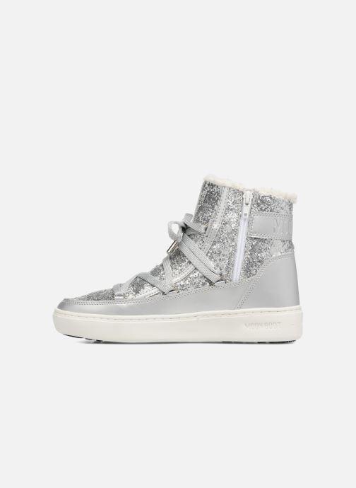 Boots en enkellaarsjes Moon Boot Moon Boot Pulse Z.Glitter Zilver voorkant