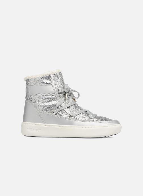 Boots en enkellaarsjes Moon Boot Moon Boot Pulse Z.Glitter Zilver achterkant