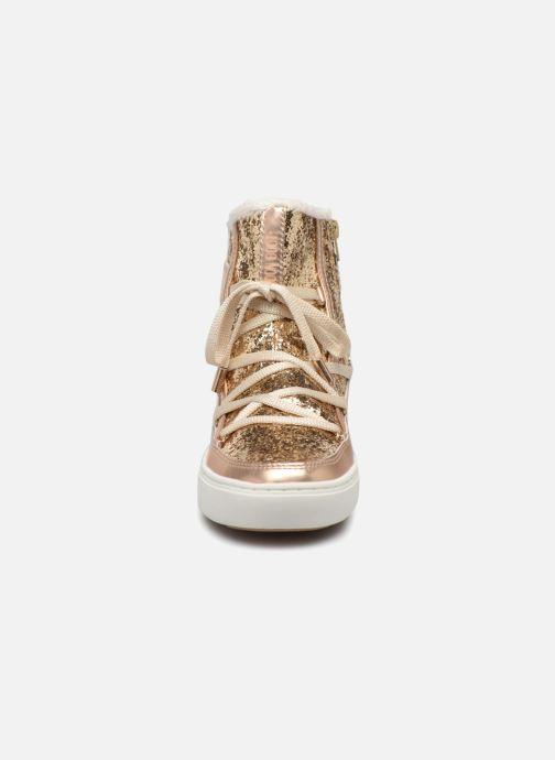 Bottines et boots Moon Boot Moon Boot Pulse Z.Glitter Or et bronze vue portées chaussures