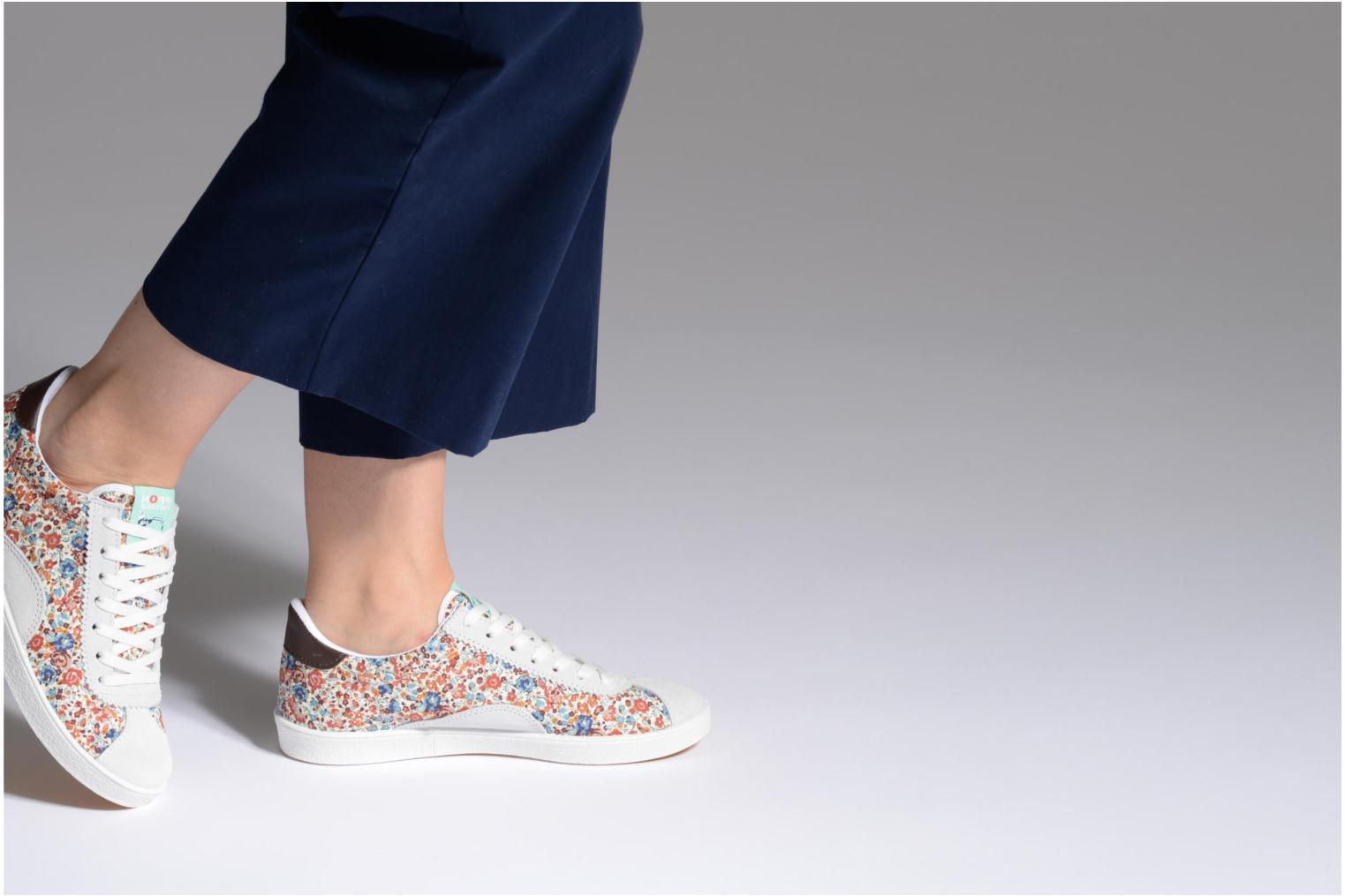 Trainers Ippon Vintage Captain space Multicolor view from underneath / model view