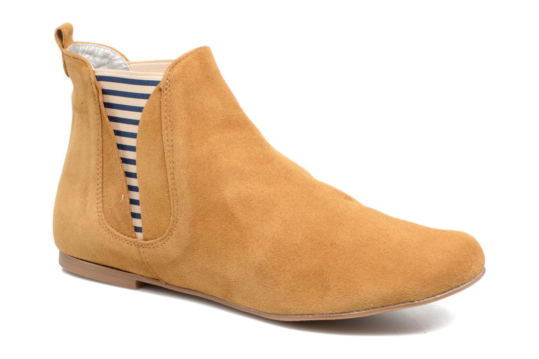 Bottines et boots Ippon Vintage Patch fly boat Marron vue détail/paire