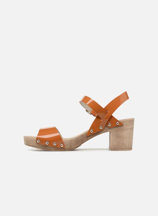 Sandales et nu-pieds Ippon Vintage Sok colors Marron vue face