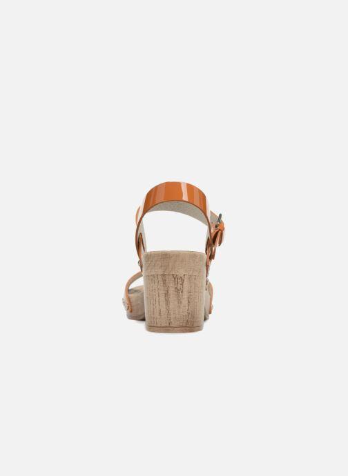Sandales et nu-pieds Ippon Vintage Sok colors Marron vue droite