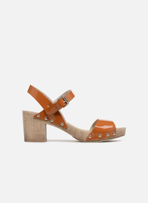 Sandales et nu-pieds Ippon Vintage Sok colors Marron vue derrière