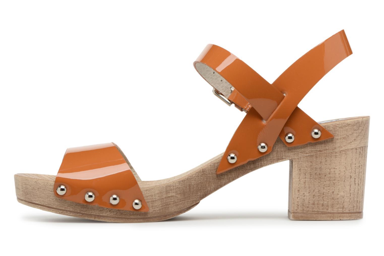 Sandals Ippon Vintage Sok colors Brown front view