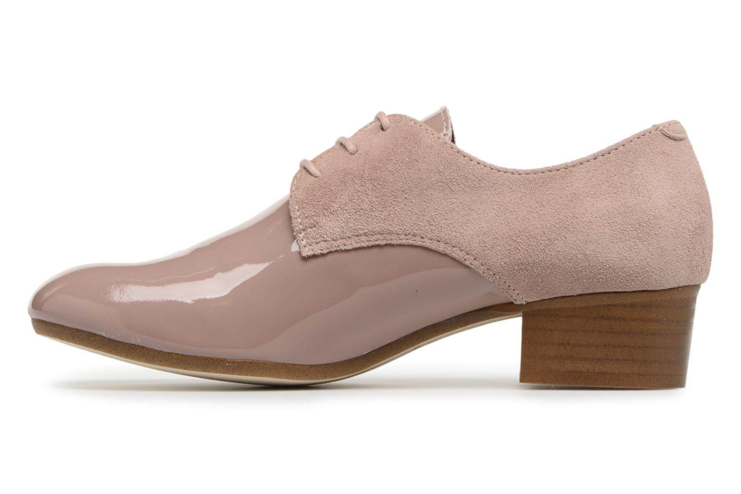Lace-up shoes Ippon Vintage Chalk farm Pink front view