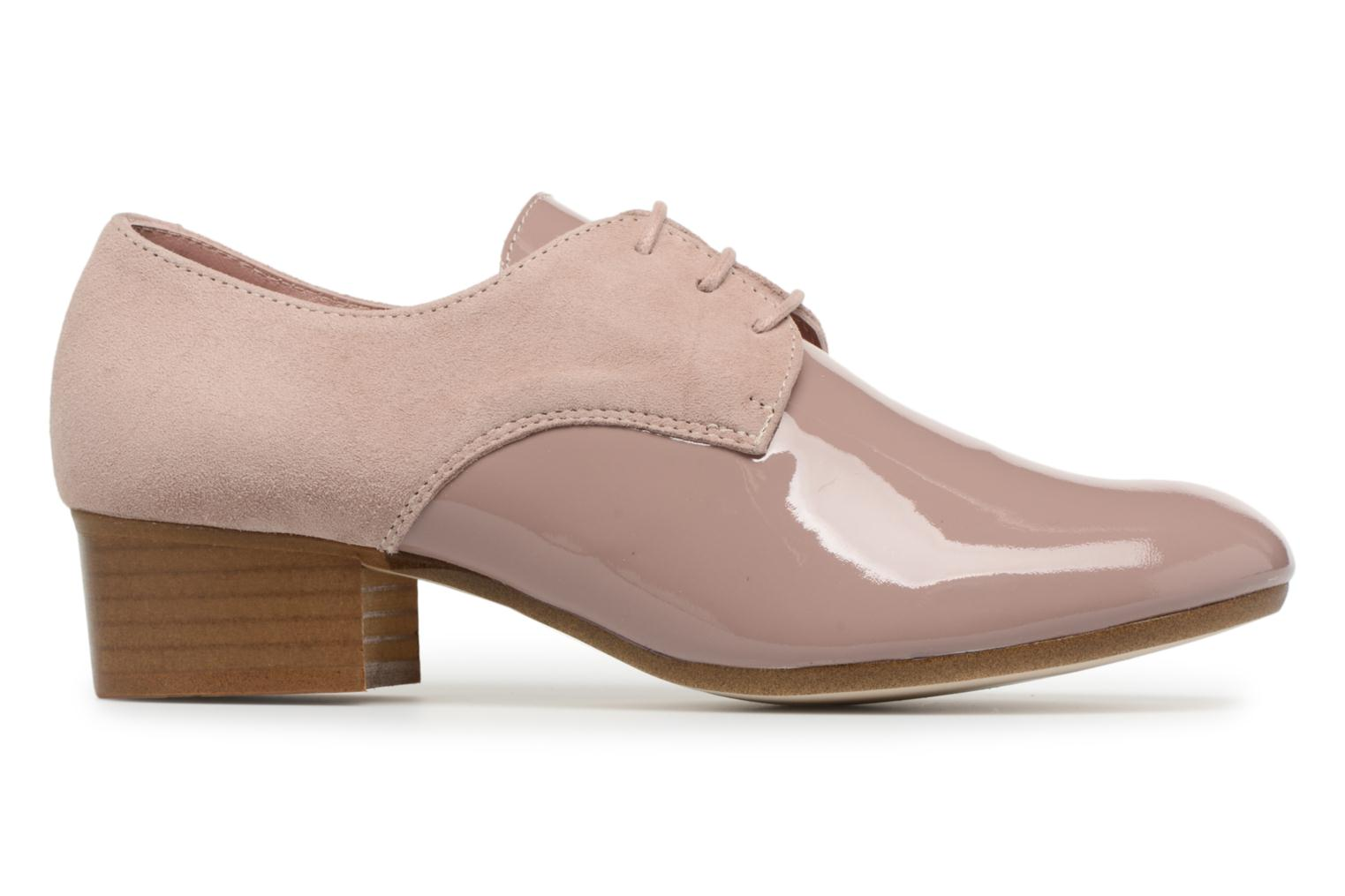 Lace-up shoes Ippon Vintage Chalk farm Pink back view
