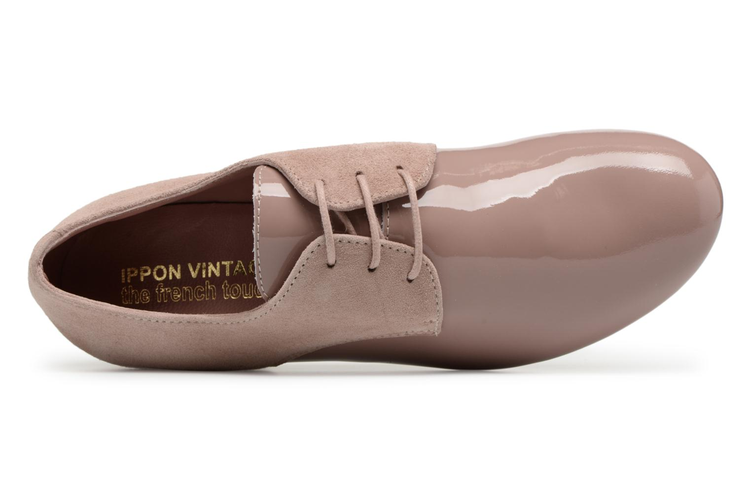 Lace-up shoes Ippon Vintage Chalk farm Pink view from the left