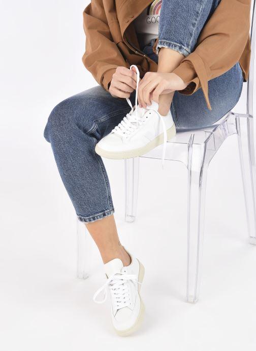 Sneakers Veja V-12 W Bianco immagine dal basso