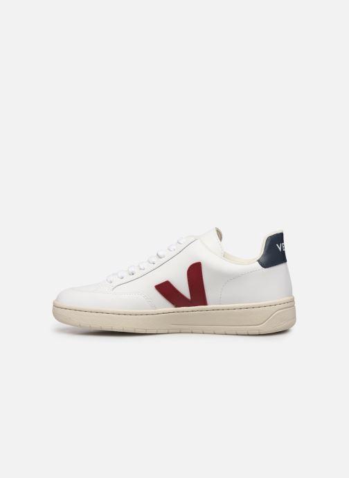 Sneaker Veja V-12 weiß ansicht von vorne