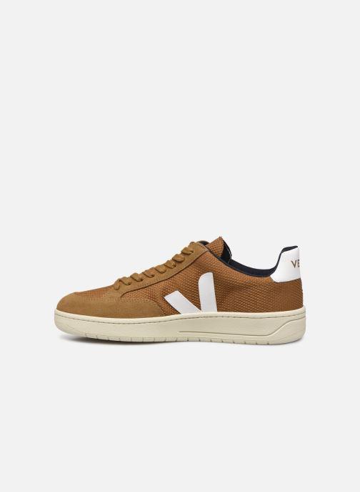 Sneakers Veja V-12 Brun se forfra