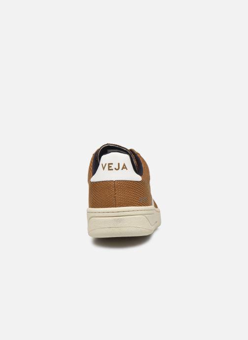 Sneakers Veja V-12 Brun Se fra højre