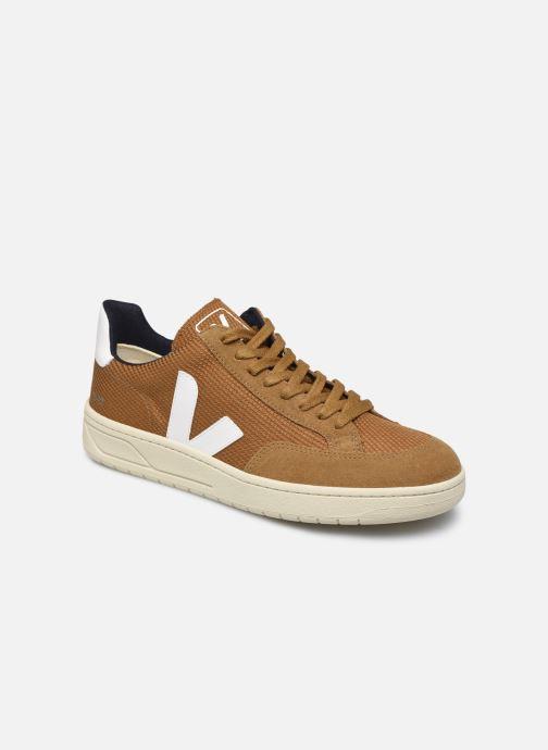 Sneakers Veja V-12 Brun detaljeret billede af skoene