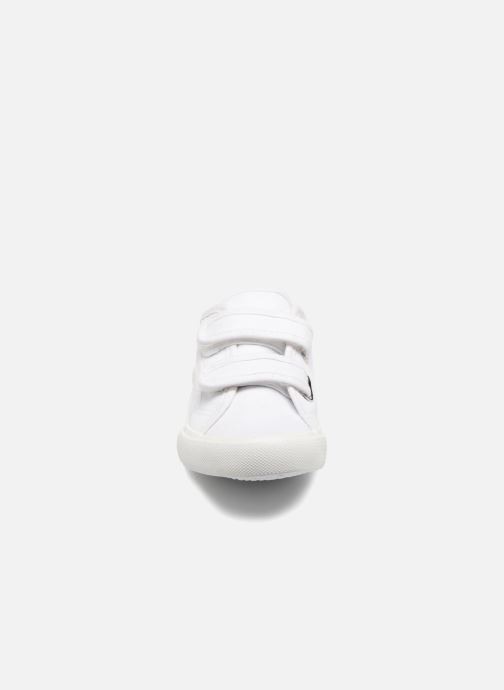 Baskets I Love Shoes GOLBO Blanc vue portées chaussures