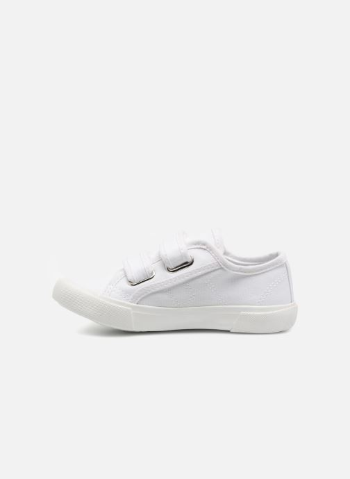 Baskets I Love Shoes GOLBO Blanc vue face