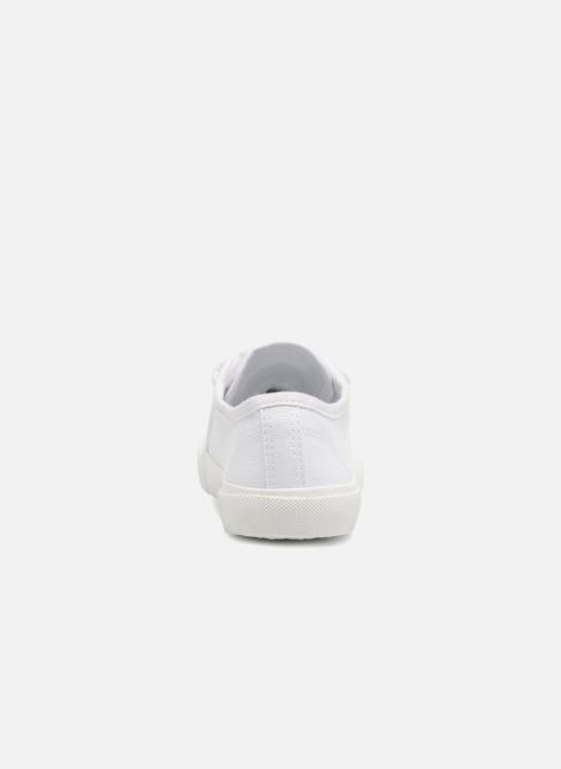 Deportivas I Love Shoes GOLBO Blanco vista lateral derecha