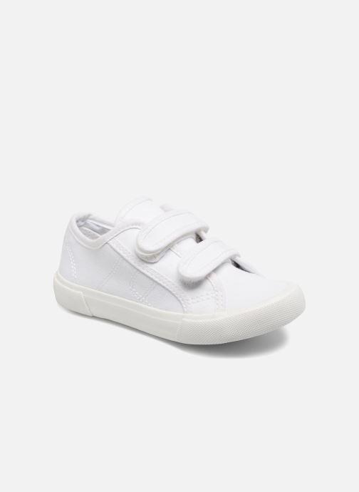 Baskets I Love Shoes GOLBO Blanc vue détail/paire