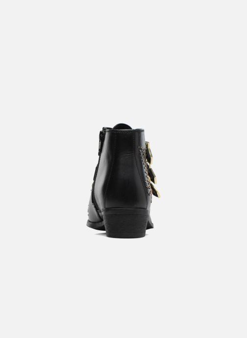 Bottines et boots Bronx Brezax 2 Noir vue droite