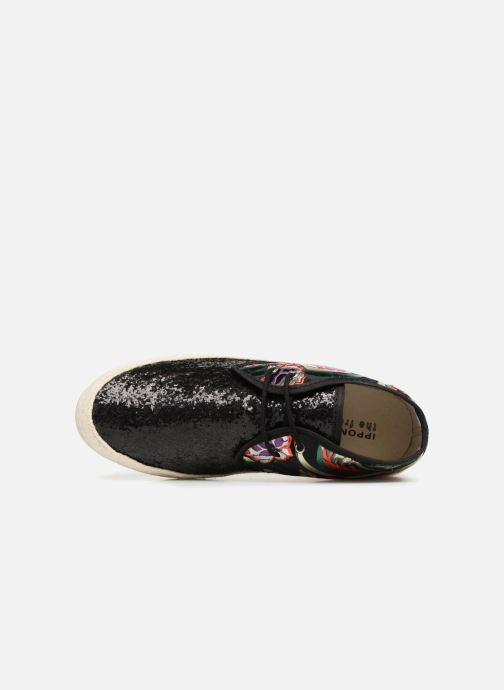 Espadrilles Smile Smile Kyoto Black view from the left
