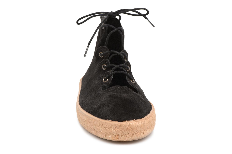 Espadrilles Smile Smile Joy week Noir vue portées chaussures