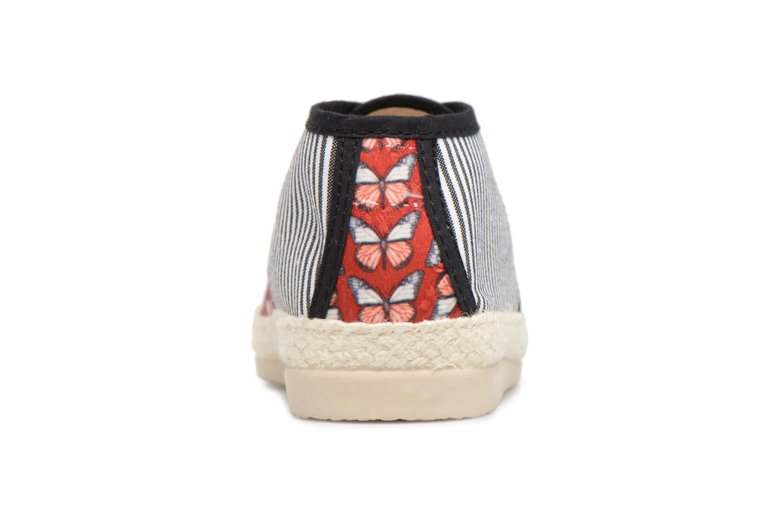 Espadrilles Smile Smile fly Red view from the right