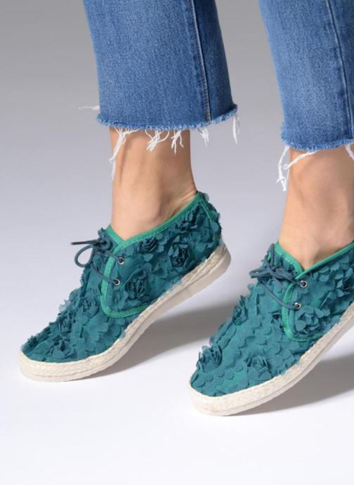 Espadrilles Smile Smile Flow Green view from underneath / model view