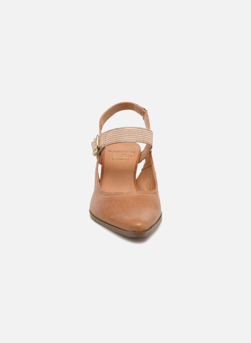 High heels Karston Kzoto Brown model view