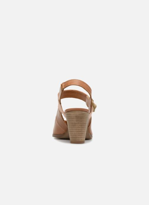 High heels Karston Kzoto Brown view from the right