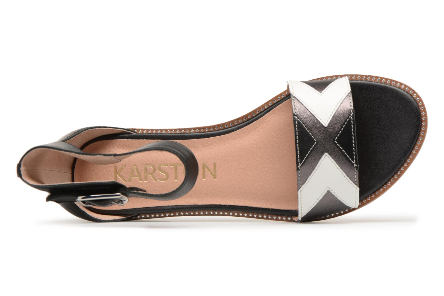 Sandals Karston Sofox Black view from the left