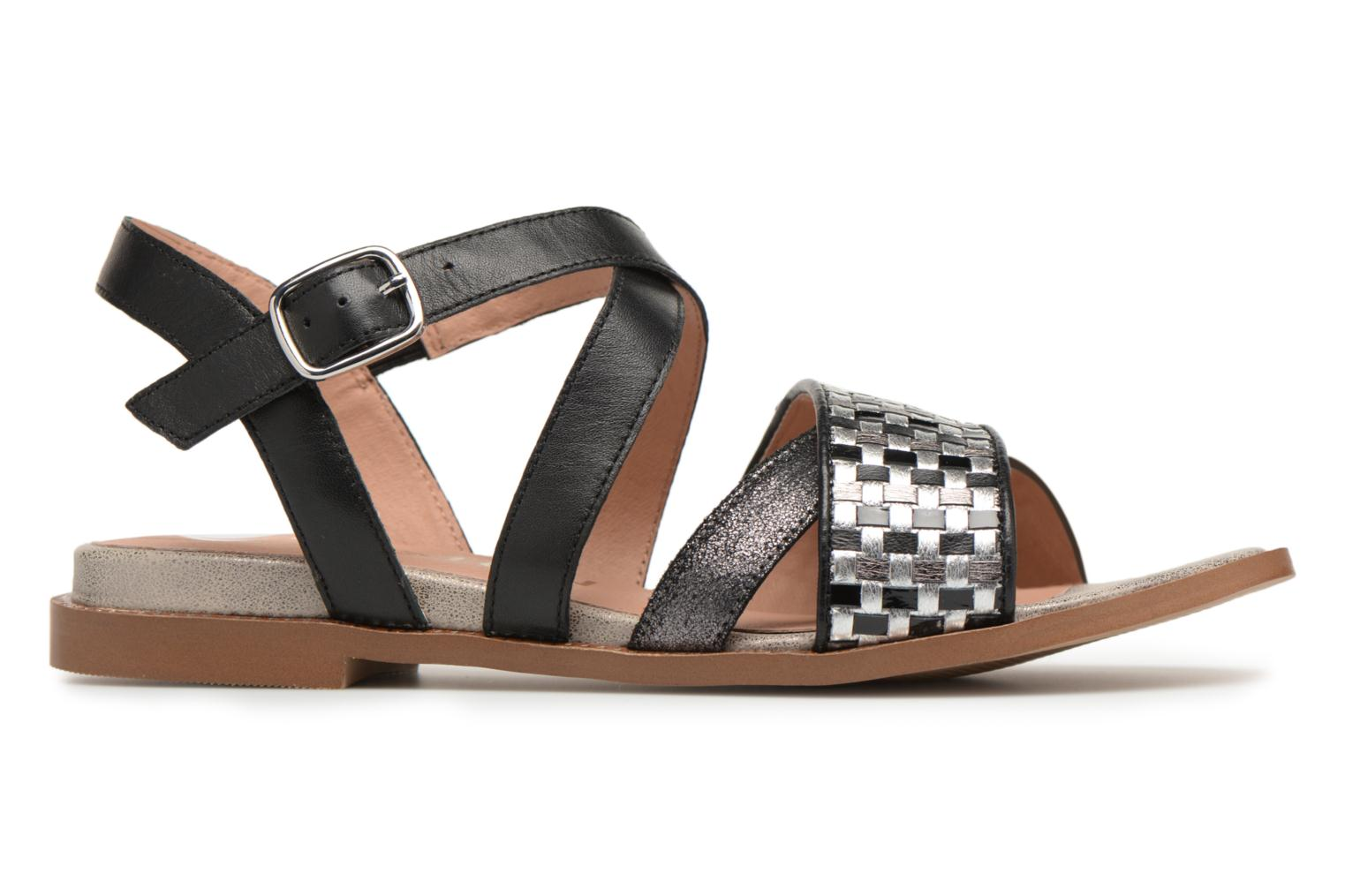 Sandals Karston Sodal Black back view