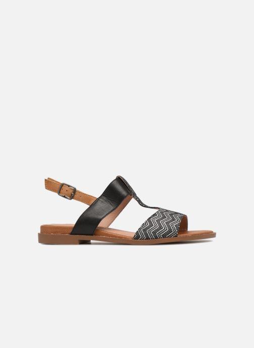 Sandales et nu-pieds Karston Soany Noir vue derrière