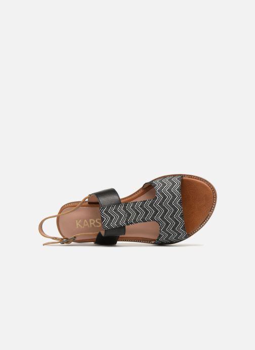 Sandales et nu-pieds Karston Soany Noir vue gauche