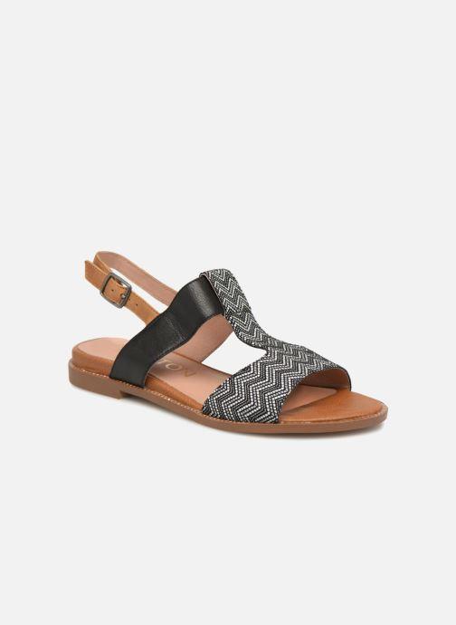 Sandales et nu-pieds Karston Soany Noir vue détail/paire