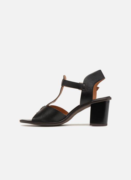 Sandales et nu-pieds Karston Lisiou Noir vue face