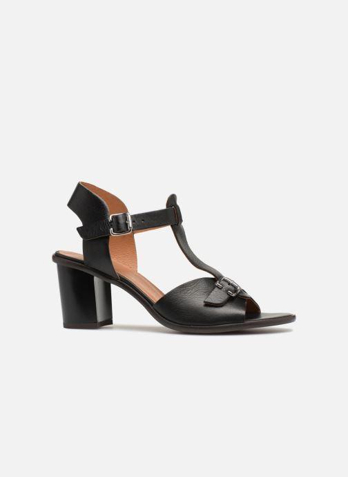 Sandales et nu-pieds Karston Lisiou Noir vue derrière